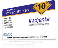 tradjenta savings card